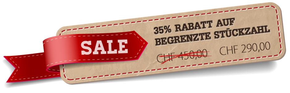 Sale Tag 35% Rabatt