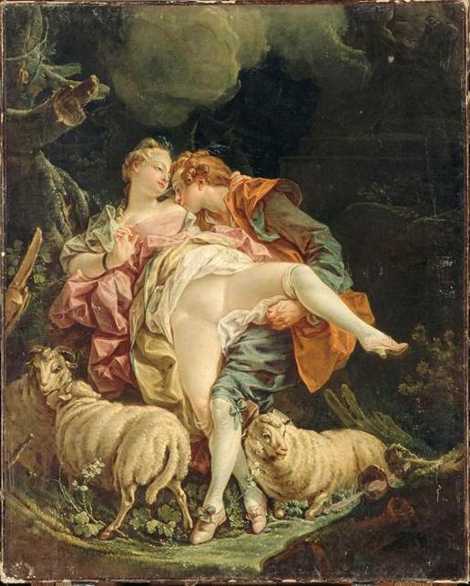 Couple d'amoureux - François Boucher